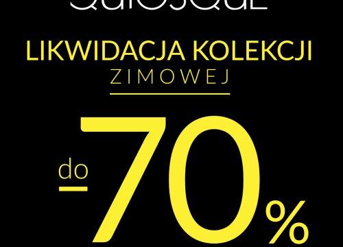 -70% w QUIOSQUE!