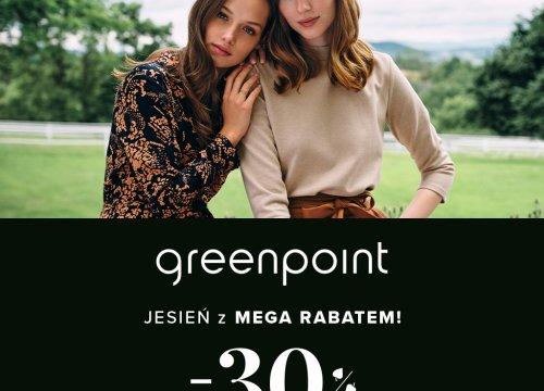 Jesień z MEGA RABATEM w Greenpoint!